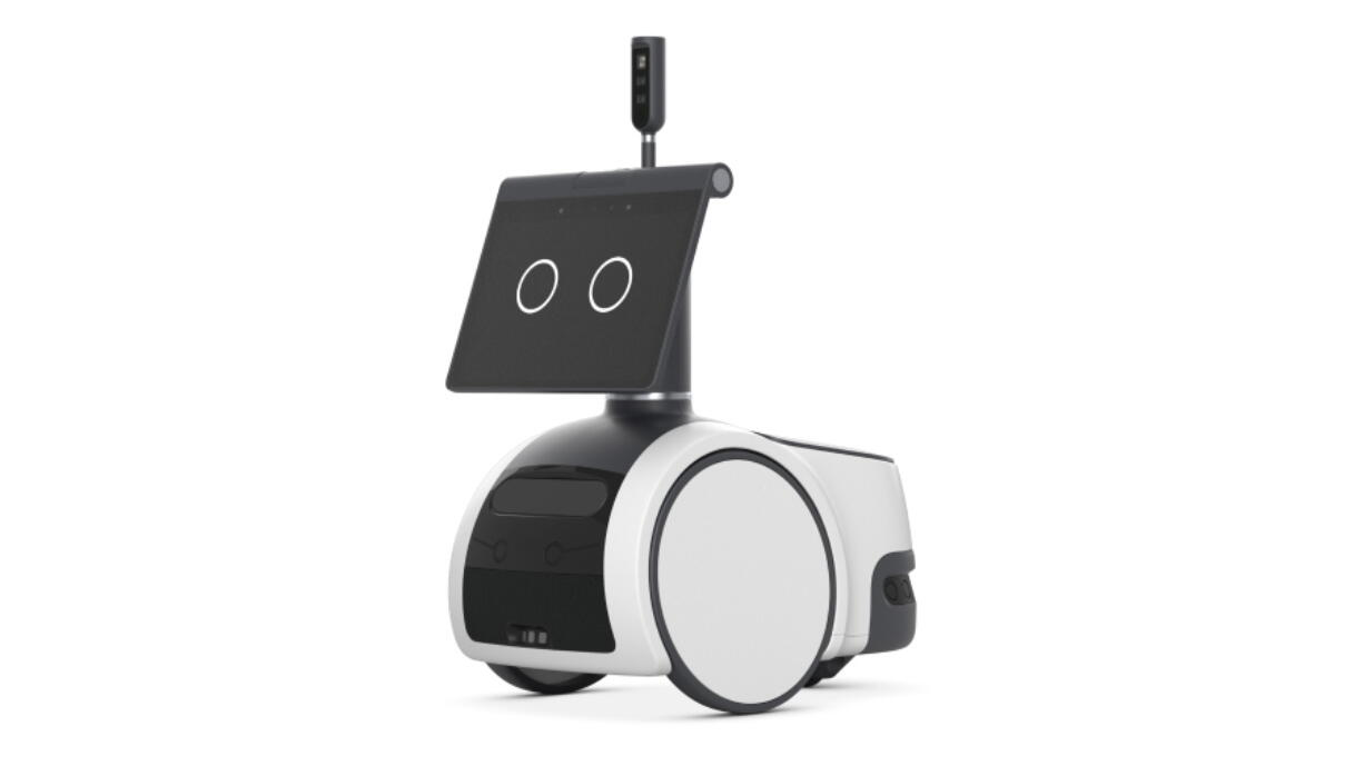 A new Amazon robot called Astro.