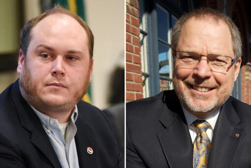 Eric LaBrant and Greg Seifert are running for Port of Vancouver commissioner.