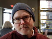Associated Press reporter  Steven DuBois is shown in February 2020. DuBois spent two decades sharing Oregon's biggest news and quirkiest neuroticisms with readers worldwide.