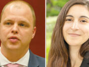 John Blom and Kim Harless will face off in November for Vancouver City Council Position 1.