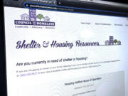 The Council for the Homeless website.
