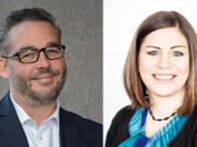 The candidates for Vancouver city council's Position 2 seat are Erik Paulsen and Kara Tess